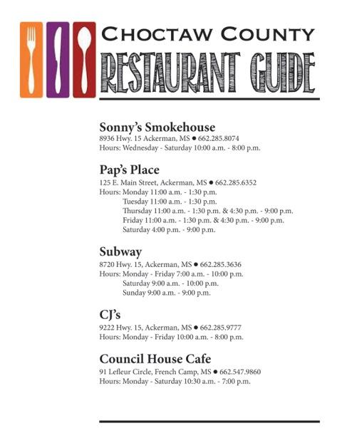 CoC Restaurant Guide JPEG